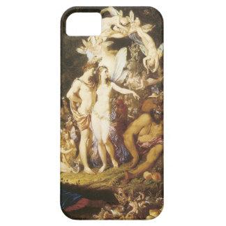La reconciliación de Oberon y del Titania, 1847 iPhone 5 Case-Mate Fundas