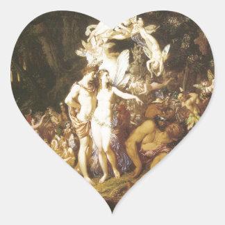 La reconciliación de Oberon y del Titania, 1847