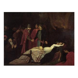 La reconciliación del Montagues y del Capulets Postales