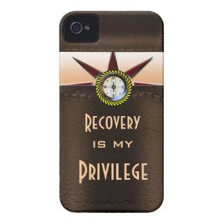 La recuperación es mi privilegio Case-Mate iPhone 4 protector