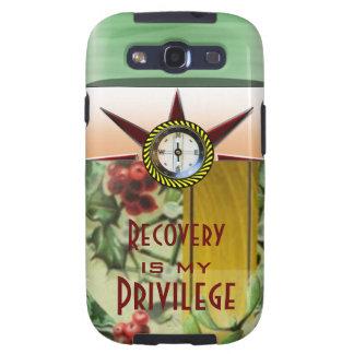 La recuperación es mi privilegio galaxy s3 cobertura