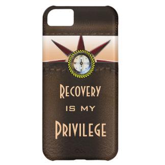 La recuperación es mi privilegio funda para iPhone 5C