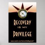 La recuperación es mi privilegio posters