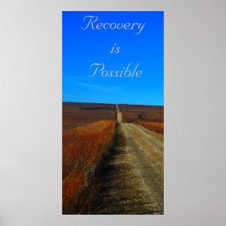 La recuperación es posible póster