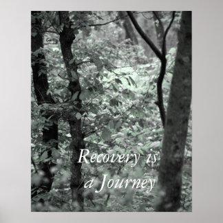 La recuperación es un viaje póster