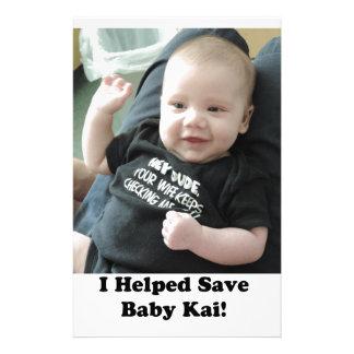 La recuperación médica de Kai de la bahía del Papeleria De Diseño