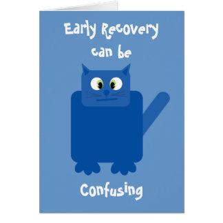 """La """"recuperación temprana puede ser"""" tarjeta diver"""