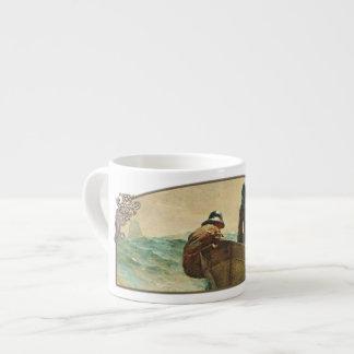 La red de los arenques - taza del café express taza espresso