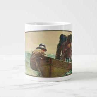 La red de los arenques - taza enorme taza grande