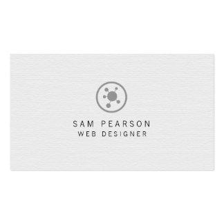 La red del diseñador del Web señala Internet del Tarjetas De Visita