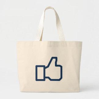 La red social tiene gusto bolsas