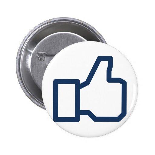 La red social tiene gusto pins