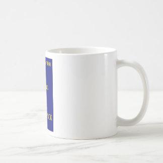 la reencarnación está haciendo una reaparición taza de café