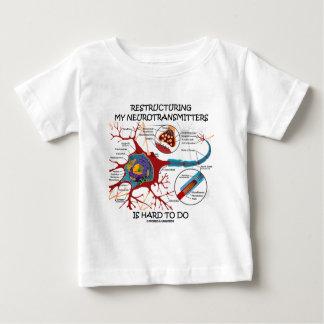 La reestructuración de mis neurotransmisores es camisetas