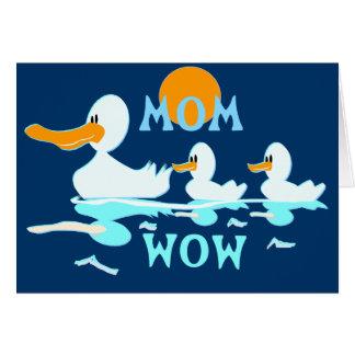 La reflexión de la mamá felicitaciones