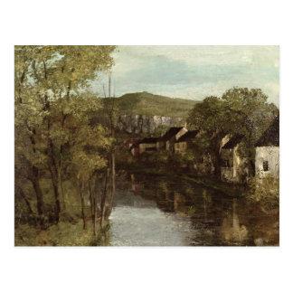 La reflexión de Ornans, c.1872 Postales