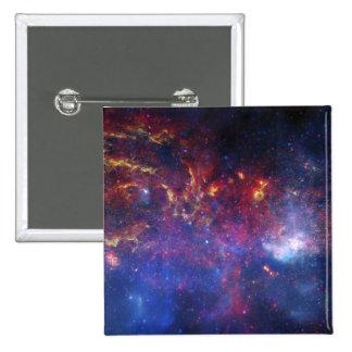 La región central de la galaxia de la vía láctea pin cuadrado