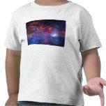 La región central de la galaxia de la vía láctea camiseta