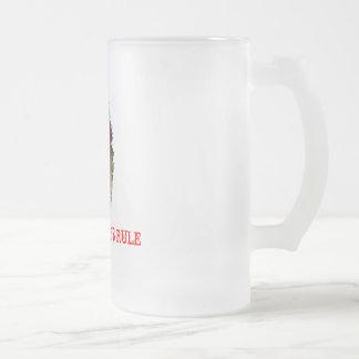 La regla de la pimienta del fantasma tazas de café
