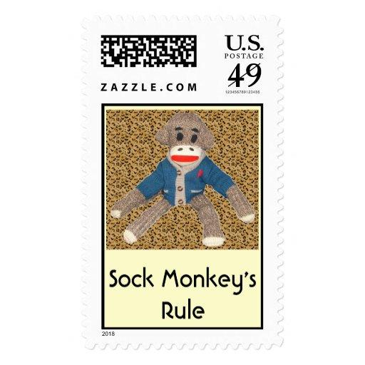 La regla del mono del calcetín