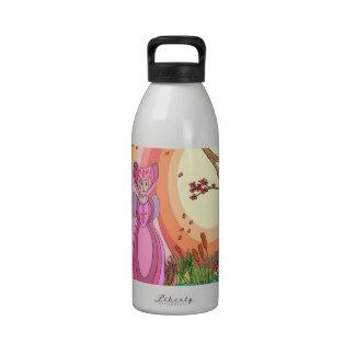 La reina botellas de agua reutilizables