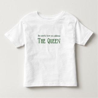 ¡La reina! Camiseta de Twofer del niño Remeras