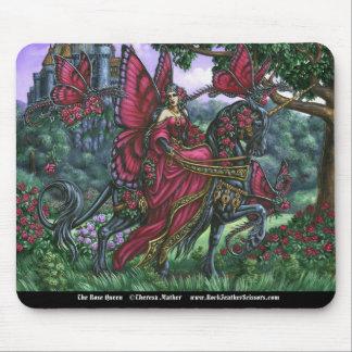 La reina color de rosa Mousepad Alfombrillas De Ratones