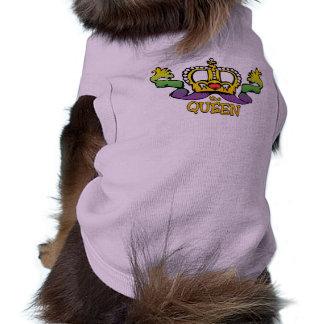 La reina consigue las gotas GRANDES Camiseta De Mascota