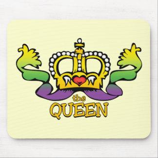 La reina consigue las gotas GRANDES Tapetes De Ratón