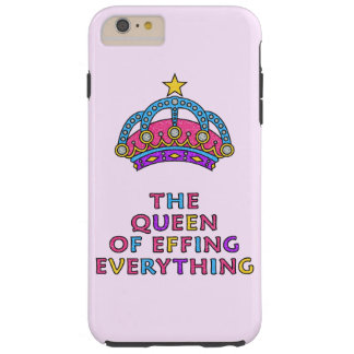 La reina de Effing todo caso más del iPhone 6 Funda Resistente iPhone 6 Plus