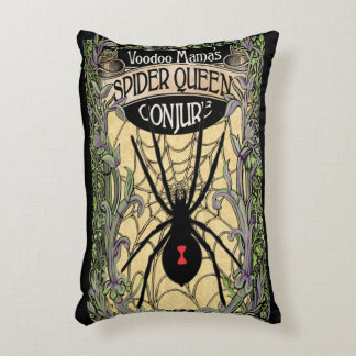 La reina de la araña conjura la almohada del arte cojín