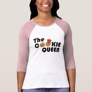 La reina de la galleta camiseta