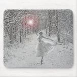 La reina de la nieve mousepads
