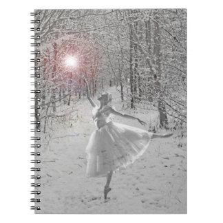 La reina de la nieve note book