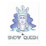 La reina de la nieve postales