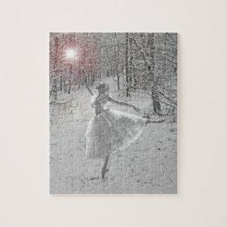 La reina de la nieve puzzles con fotos
