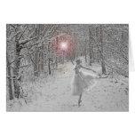 La reina de la nieve tarjetas