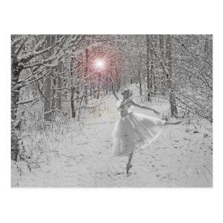 La reina de la nieve tarjetas postales