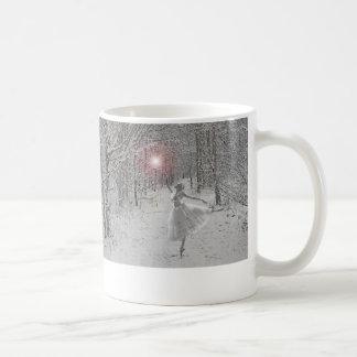 La reina de la nieve taza de café