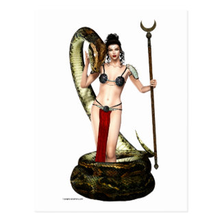 La reina de la serpiente postal