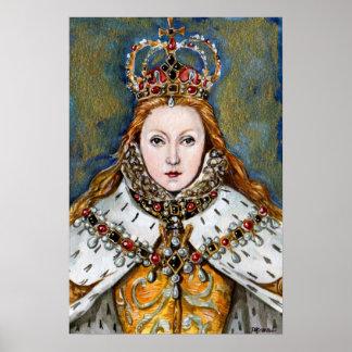 La reina de la Virgen Posters