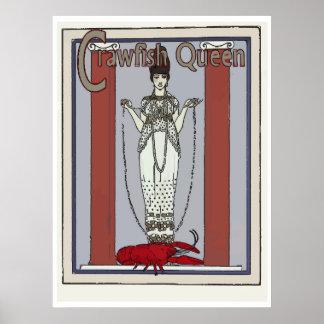 La reina de los cangrejos, añade el texto póster