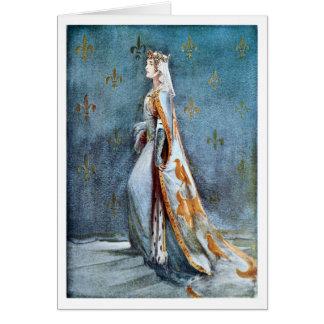 La reina de Richard II Tarjeta De Felicitación