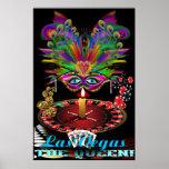 """La reina de Vegas 40"""" el mejor grande vista de X 6 Posters"""