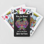 La reina de Vegas ve por favor comentarios del art Barajas De Cartas