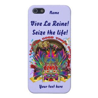 La reina de Vegas ve por favor comentarios del art iPhone 5 Protectores