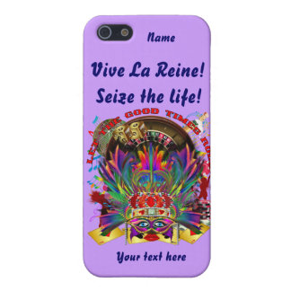 La reina de Vegas ve por favor comentarios del art iPhone 5 Carcasa