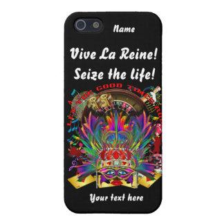 La reina de Vegas ve por favor comentarios del iPhone 5 Funda