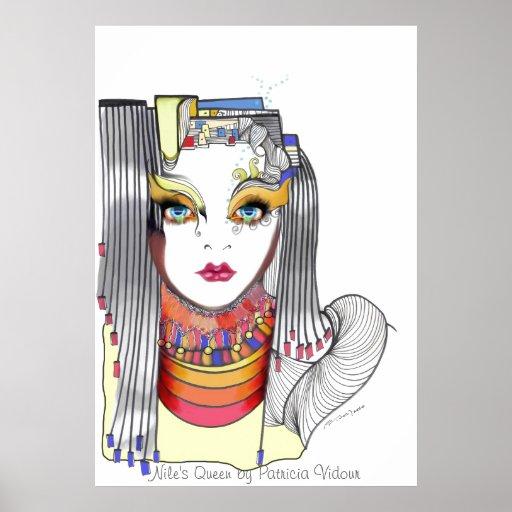 La reina del Nilo Posters