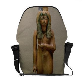 La reina divina Ahmose Nefertari (madera pintada) Bolsas De Mensajeria